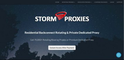 Storm Proxies Spring Discount