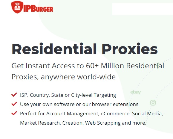 Dedicated Residential IP proxies