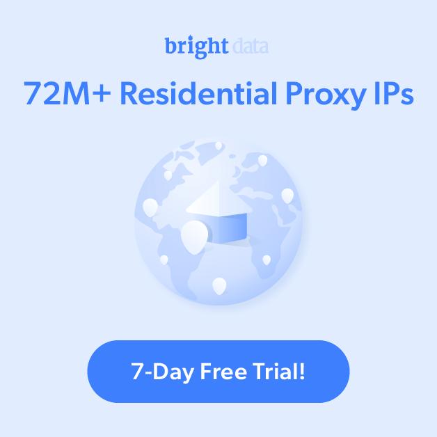 Bright Data e-commerce proxy servers